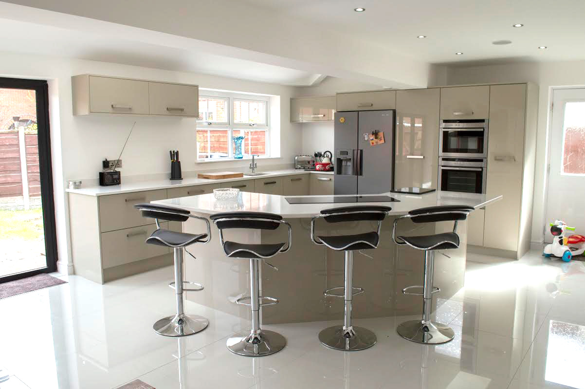 new home kitchen ideas designer new kitchen at their home in leigh 20973